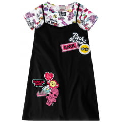 Vestido Infantil LOL Surprise Malwee Kids